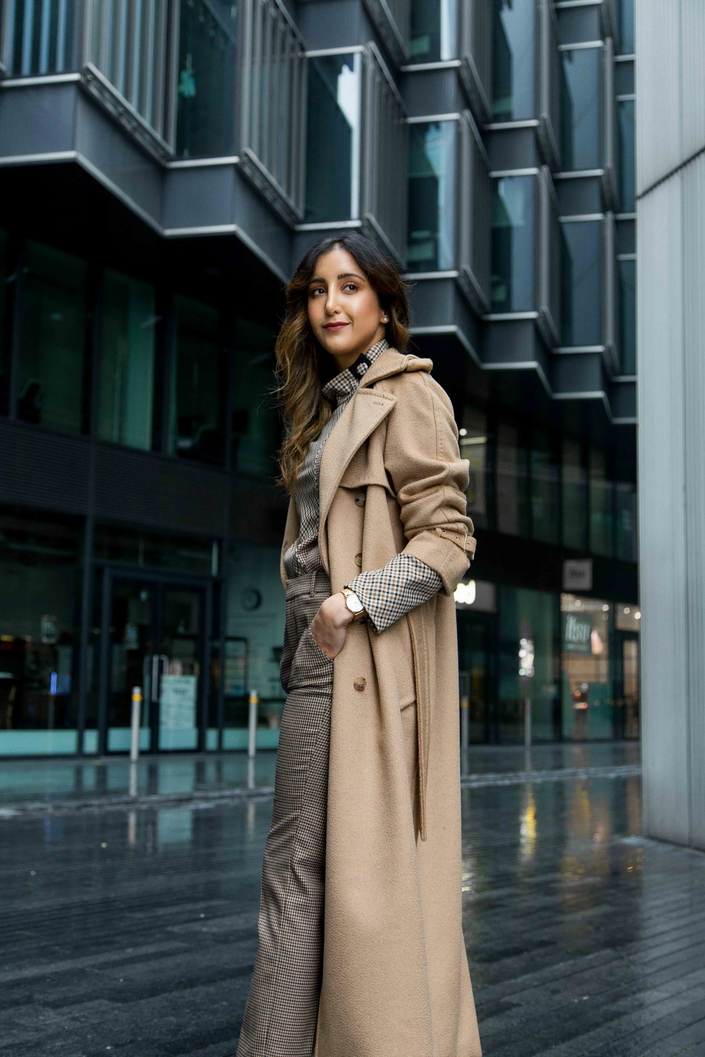 Cocooned in Camel and Check - Max Mara Camel Trench 'Kriss ...